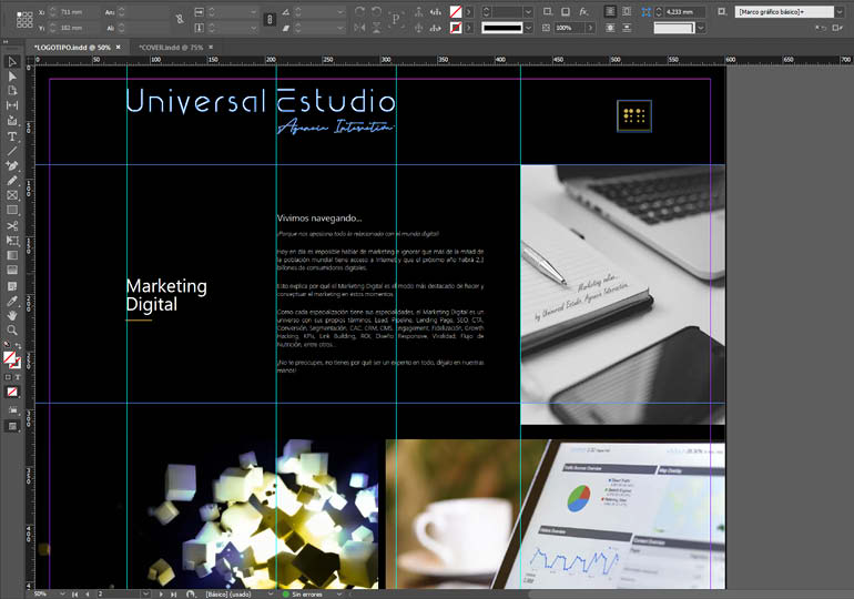 Diseño Web - Desarrollo Universal Estudio. Agencia Interactiva